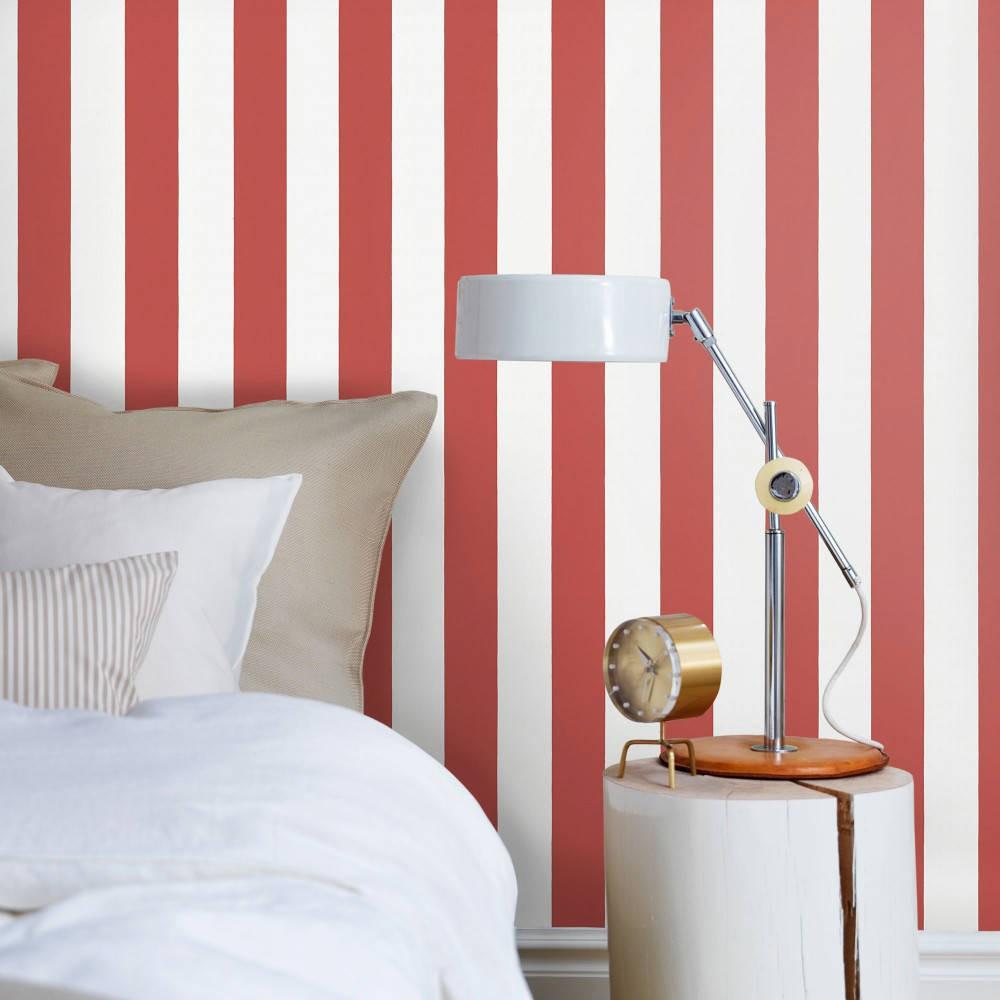 Tienda online telas papel papeles pintados rayas for Papeles para empapelar dormitorios