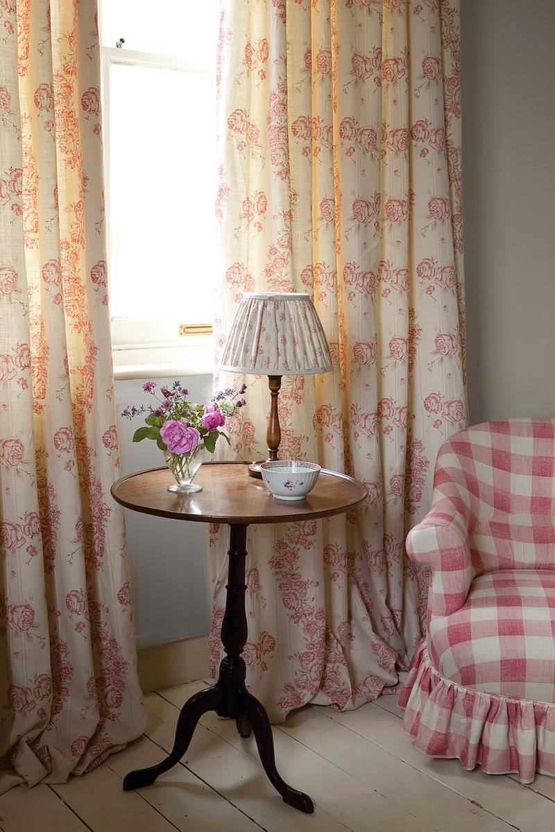 Telas para cortinas shabby chic telas papel - Estilo de cortinas ...