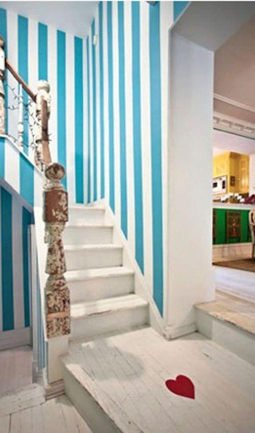 Tienda online telas papel como decorar una habitaci n con papel pintado de rayas - Papel con rayas ...