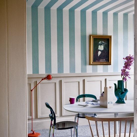 Tienda online telas papel decorar el techo con papel - Decorar paredes con papel ...