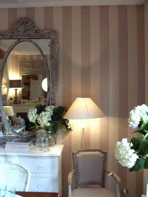 Tienda online telas papel como decorar una habitaci n - Dormitorios pintados a rayas ...