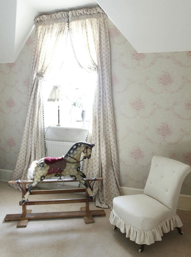Tienda online telas papel papel pintado kate sophia pink - Catalogo papel paredes ...