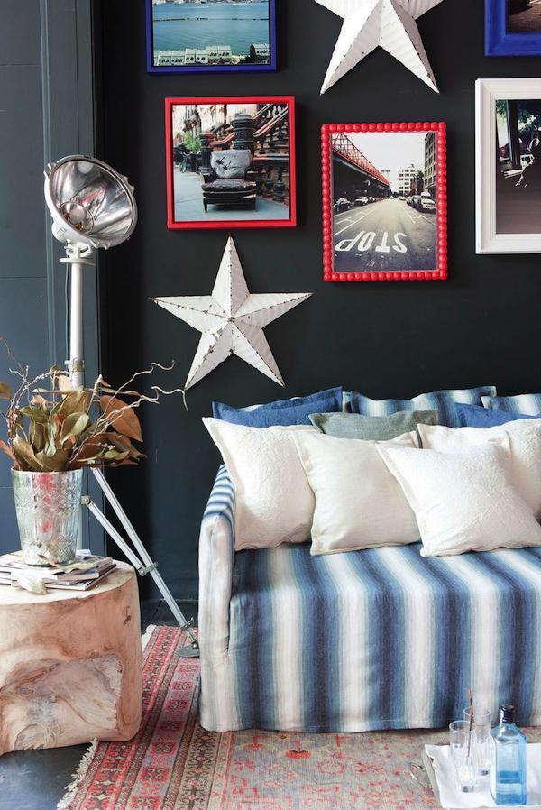 decorar con telas un espacio vintage