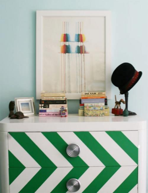 Empapelar un mueble telas papel - Transformar un mueble ...