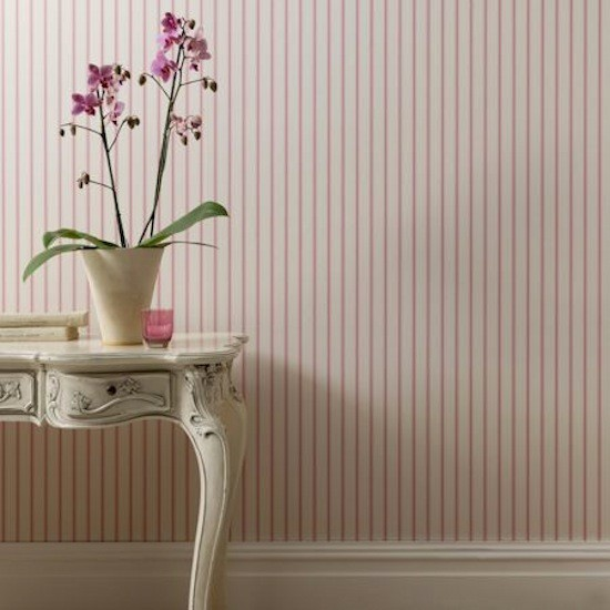 Tienda online telas papel papel pintado de rayas - Paredes pintadas con rayas ...