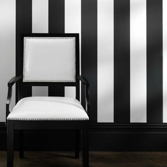 Tienda online telas papel papel pintado de rayas - Papeles pintados rayas verticales ...