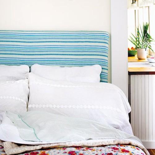 matrimonio ce home cabeceros de cama tapizados con botones y tela de rayas pictures to