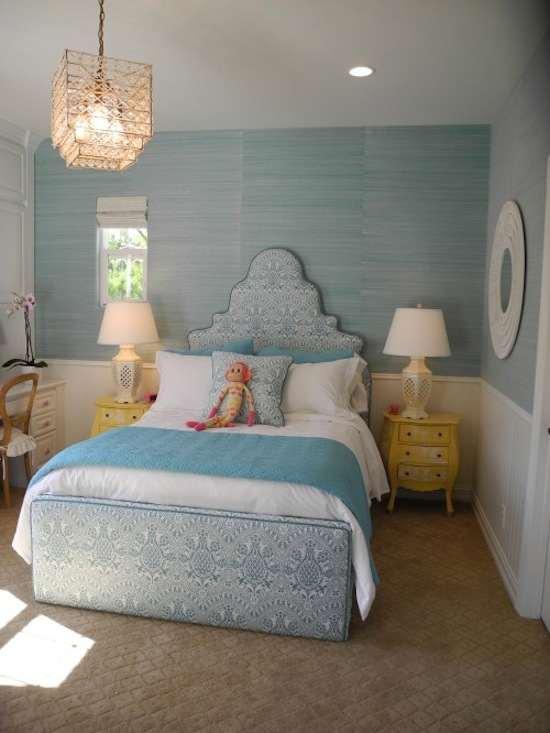 tienda online telas & papel | decorar las paredes del dormitorio