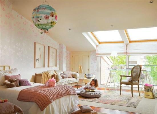 Tienda online telas papel decorar las paredes del - Paredes habitacion juvenil ...