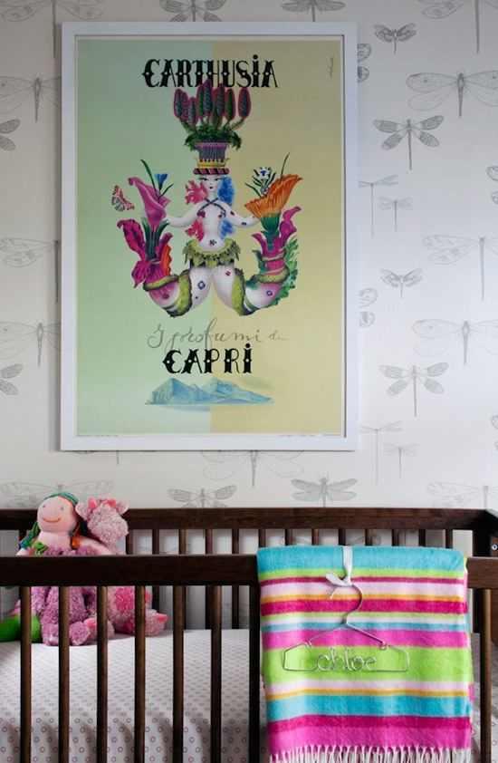 Tienda online telas papel decorar las paredes de la - Color paredes habitacion bebe ...
