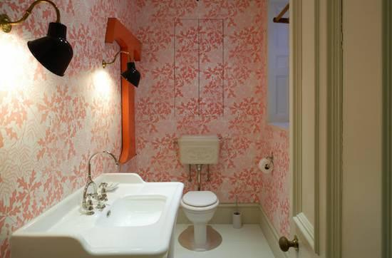 Tienda online telas papel decorar las paredes del ba o con papel pintado - Catalogo papel paredes ...