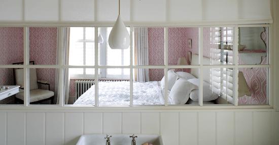 Ideas para pintar una habitacin en dos colores car - Papel pintado para dormitorio ...