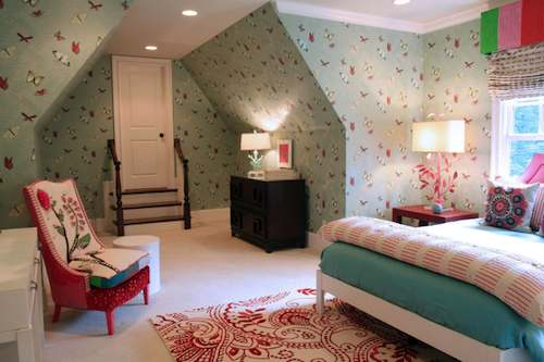 Tienda online telas papel papel pintado de mariposas - Papel pintado dormitorio principal ...