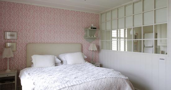 Tienda online telas papel decorar las paredes del dormitorio de matrimonio con papel pintado - Dormitorio con papel pintado ...