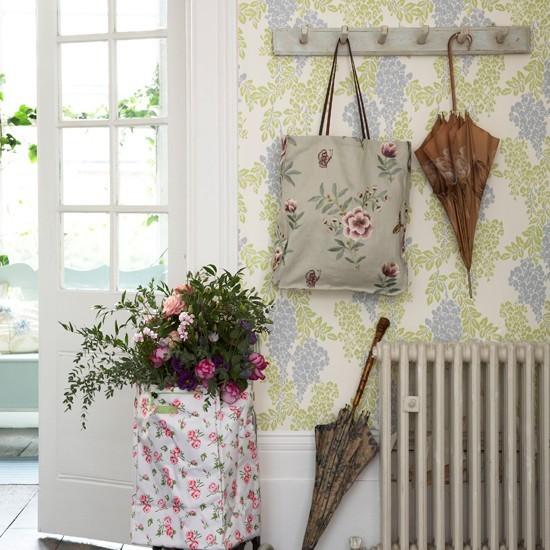 Tienda online telas papel decorar las paredes del - Entradas con papel pintado ...