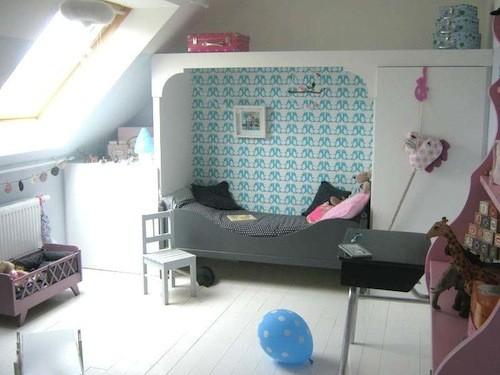 Tienda online telas papel papel pintado infantil de for Papel pintado dormitorio estilo nordico