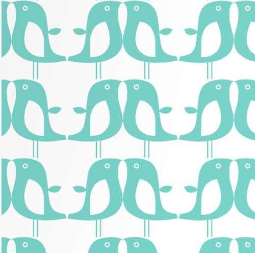 Tienda online telas papel papel pintado infantil de for Papel pintado color turquesa