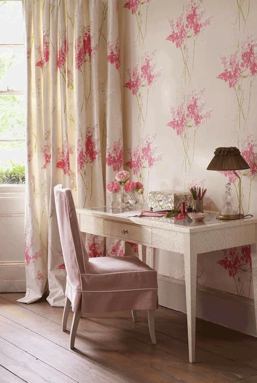Tienda online telas papel tela de flores descubre las - Telas para cortinas juveniles ...