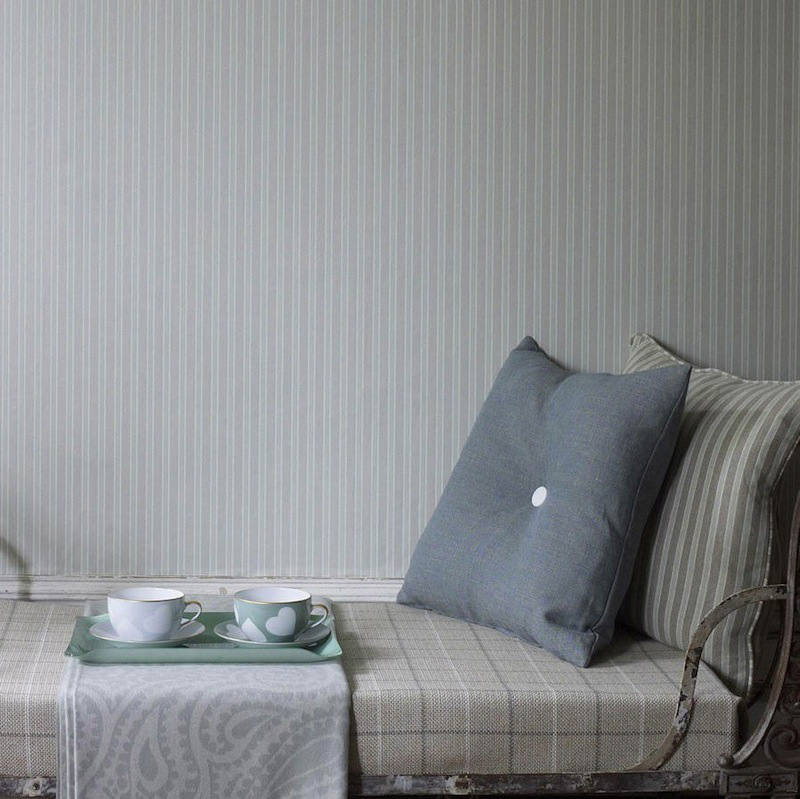 Tienda online telas papel papel para paredes con rayas - Papeles pintados de pared ...