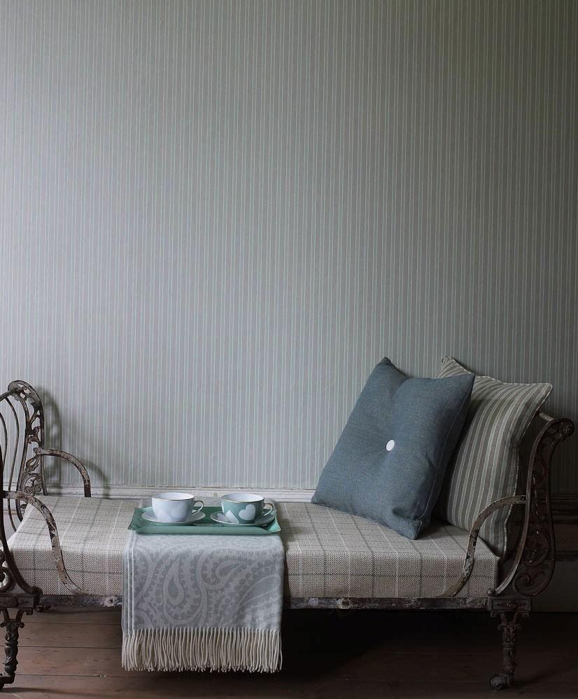 Tienda online telas papel papel pintado rayas kentwell - Papel pared rayas ...