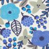 tela con flores tipo retro