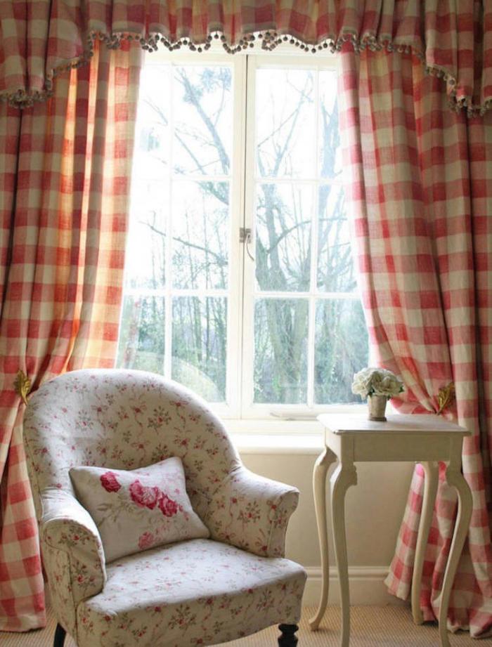 Tienda online telas papel tela de cuadros en rosa y azul - Comprar tela cortinas ...