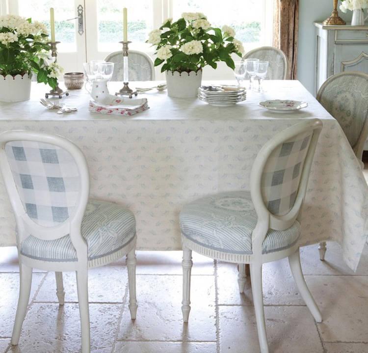 Tienda online telas papel tela de cuadros en rosa y azul - Tela para sillas de comedor ...