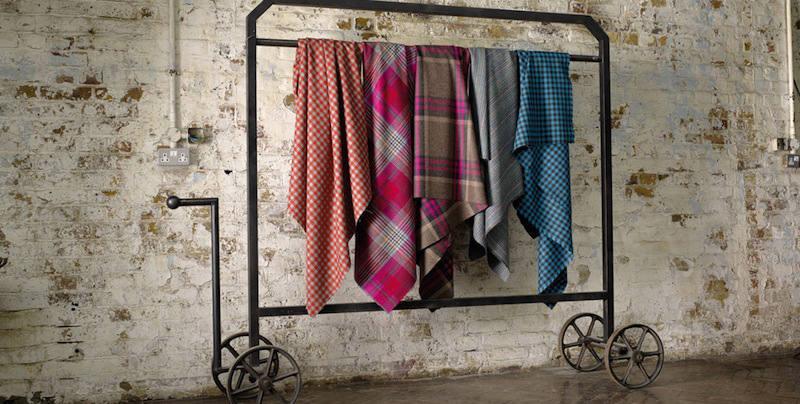 telas de lana escocesas