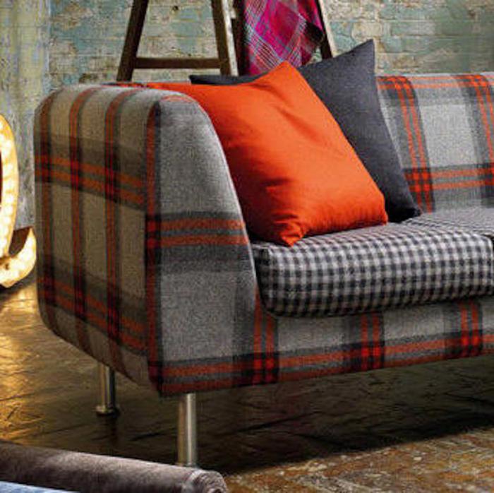 Tienda online telas papel tela de lana con cuadros - Telas chenille para tapizar ...