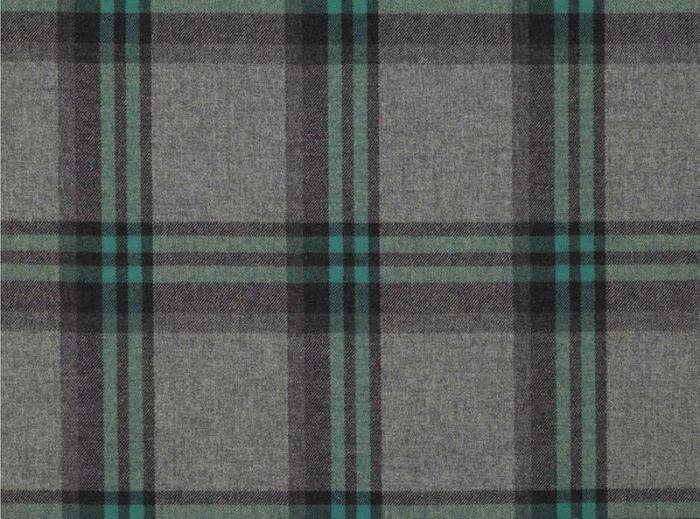 tela de lana turquesa