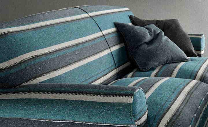 telas para tapizar online: telas de rayas   telas & papel