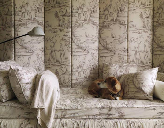 Top colchas para cama de wallpapers - Papel pintado toile de jouy ...