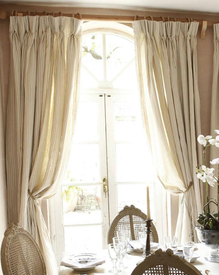 Tienda online telas papel lino rayas carbon - Nombres de telas para cortinas ...