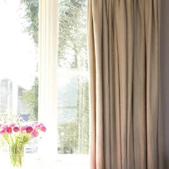 Tienda online telas papel lino kate oscuro - Tela de cortina ...