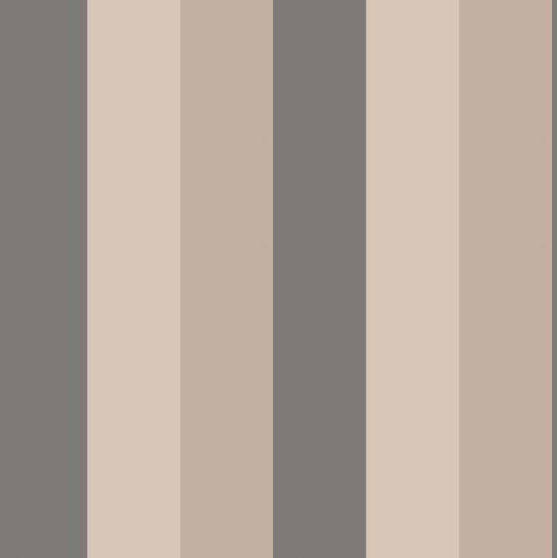 Papel pintado rayas carnaby tierra telas papel - Papeles pintados a rayas ...