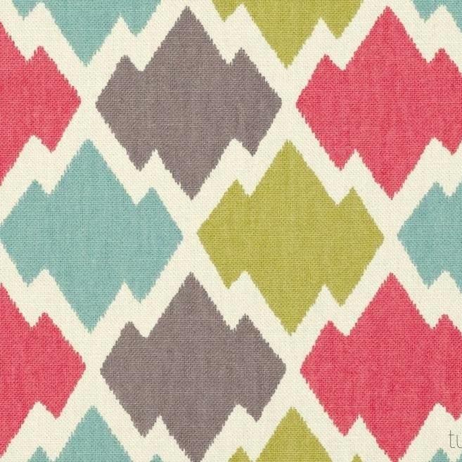 Tienda online telas papel tela estampado geom trico - Telas chenille para tapizar ...