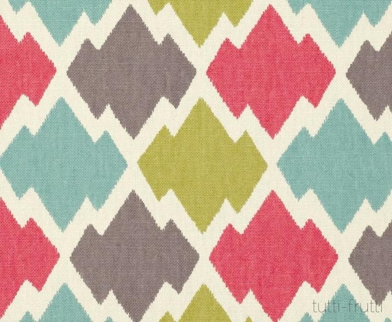 Tienda online telas papel tela estampado geom trico - Tela microfibra para tapizar ...