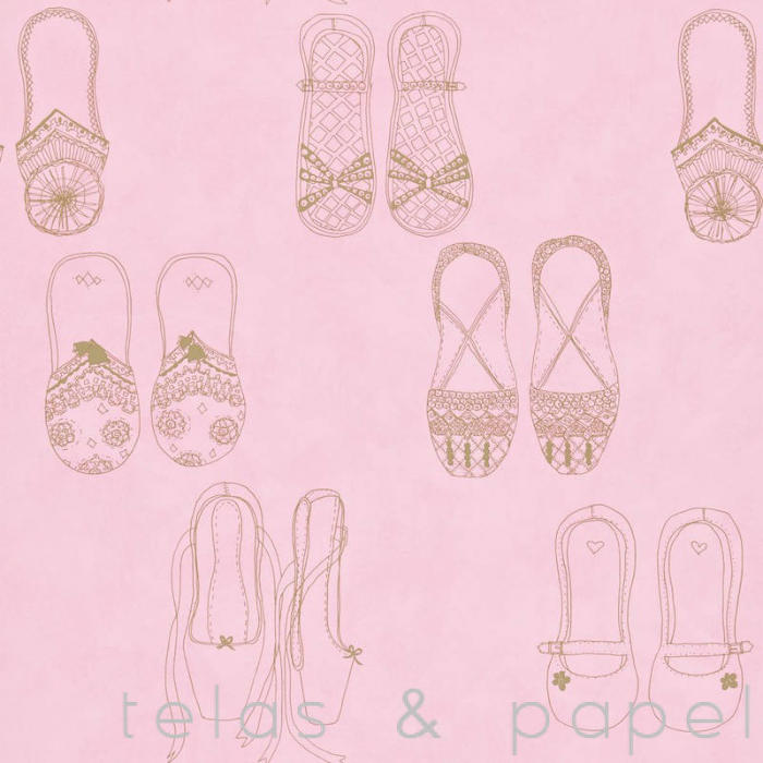 Tienda online telas papel papel pintado infantil para for Papel decomural infantil