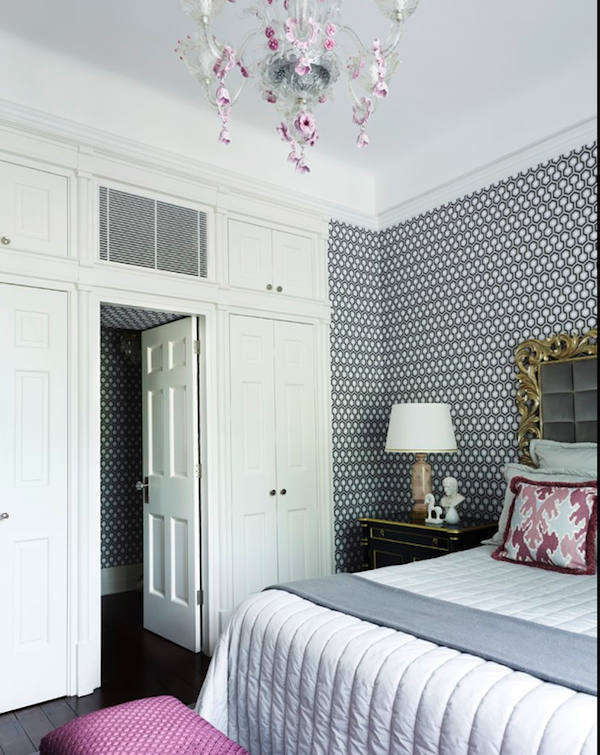 Tienda online telas papel papel pintado hexagons hicks for Cabeceros de cama con papel pintado