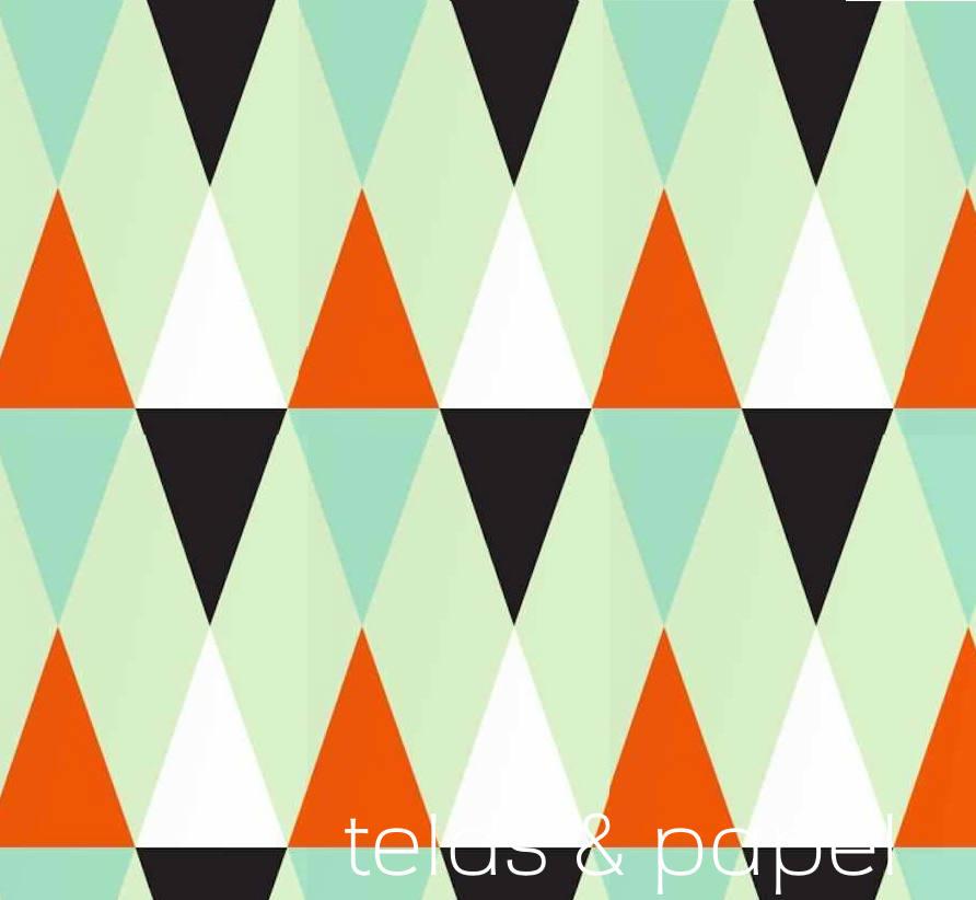 Tienda online telas papel papel pintado tri ngulos verdes - Cenefas papel pintado para paredes ...