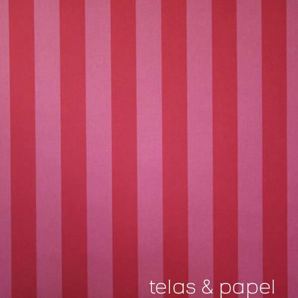 Tienda Online Telas Amp Papel Tela De Rayas Rojas Y Fresas