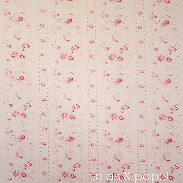 Tienda online telas papel tela de flores inglesas amy - Telas inglesas para tapizar ...