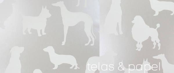 Tienda online telas papel papel pintado de osborne and for Papel pintado color plata
