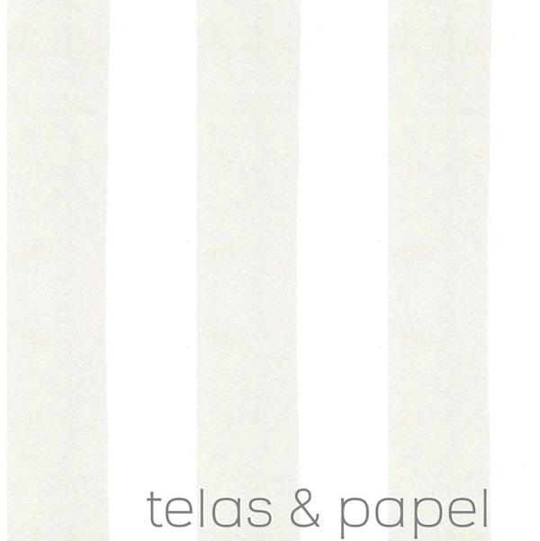 Tienda online telas papel papel pintado rayas william - Papel pintado rayas grises ...