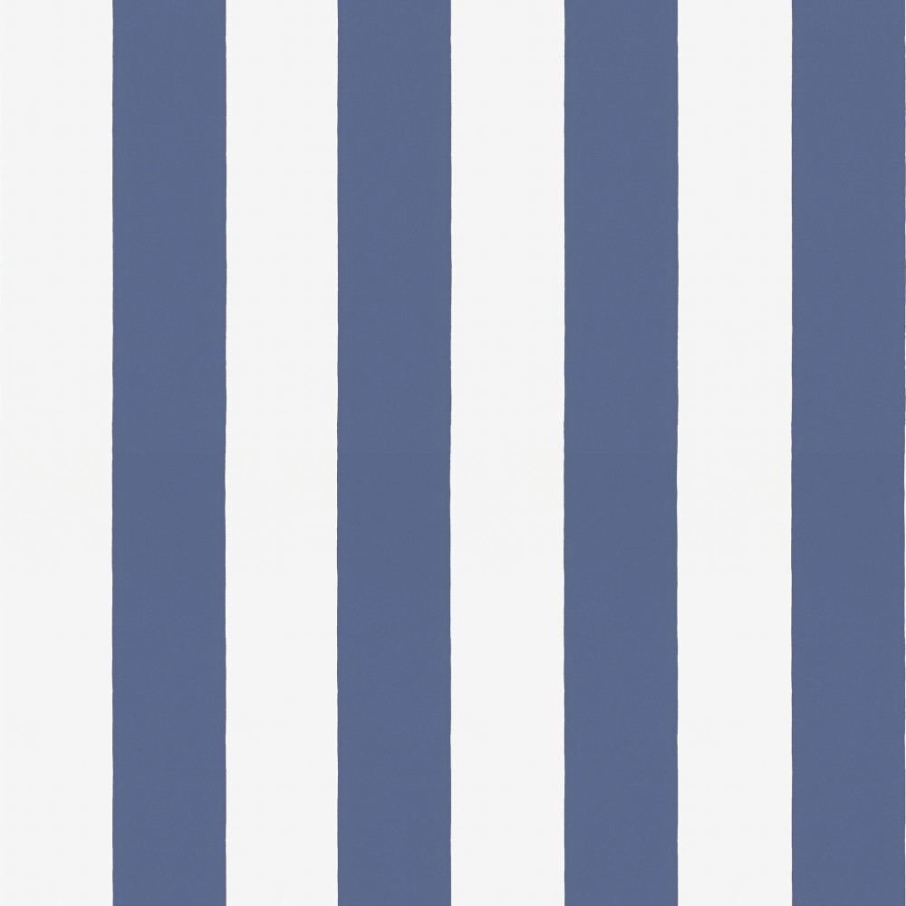 Tienda online telas papel papel pintado rayas william for Papel pintado azul