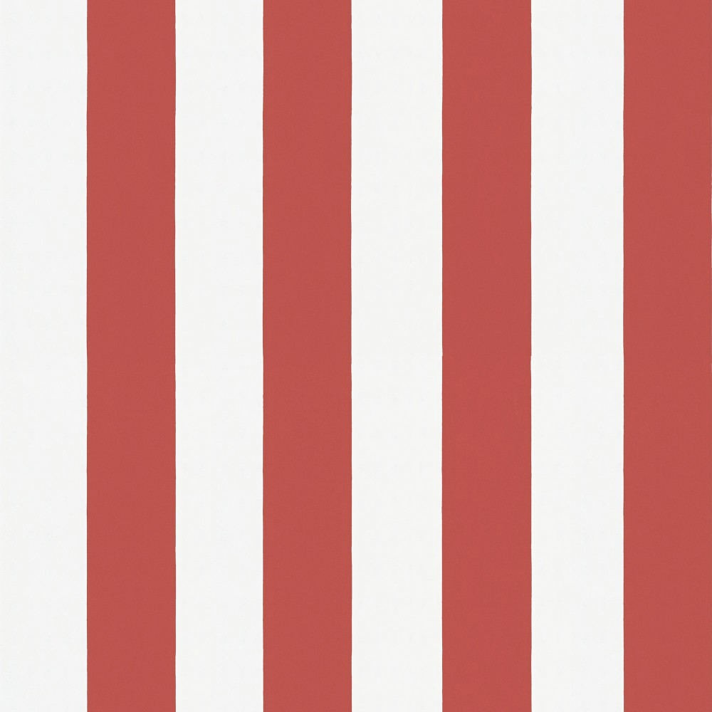 Tienda online telas papel papel pintado rayas william rojo for Papel pintado rojo