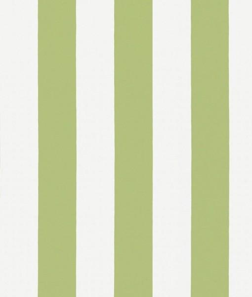 Papel pintado rayas william verde claro telas papel for Papel pintado rayas verdes