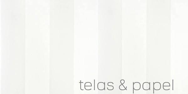 Tienda online telas papel papel pintado a rayas anchas for Papel pintado rayas beige