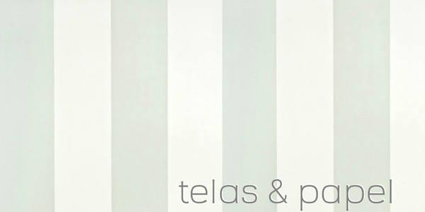 Tienda online telas papel papel pintado a rayas anchas for Papel pintado rayas verdes