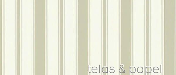 Tienda online telas papel papel pintado a rayas for Papel pintado rayas verdes